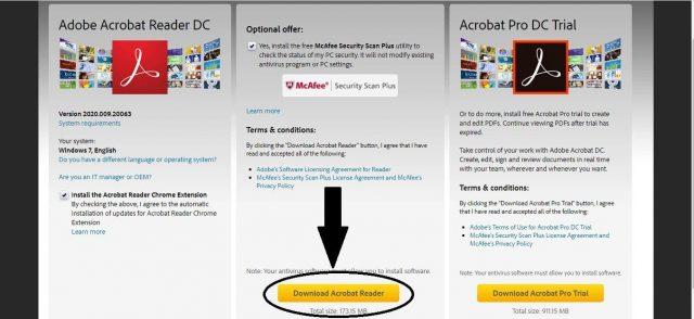 Download Acrobat Reader