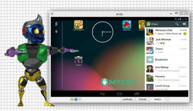 تحميل برنامج AndY Android Emulator