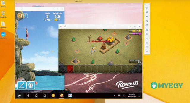 تحميل برنامج Remix OS Player