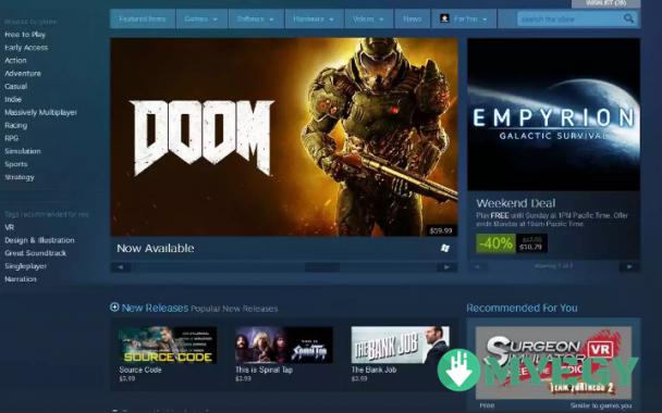برنامج Steam كامل myegy