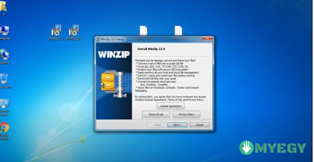 تحميل برنامج winzip من ميديا فاير