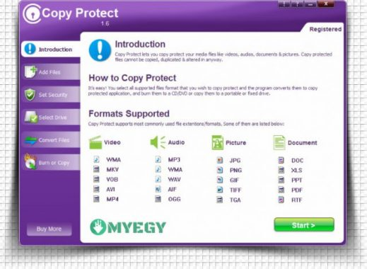 برنامج لحماية الاسطوانات من النسخ myegy